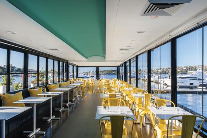Ресторан Sailor's Club в Сиднее
