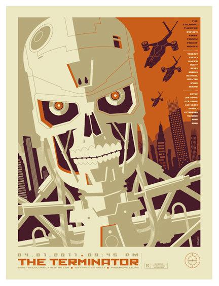 Ретро постеры американского иллюстратора Tom Whalen
