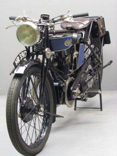 Ретро суперспорт Chater Lea Blackburne 1926
