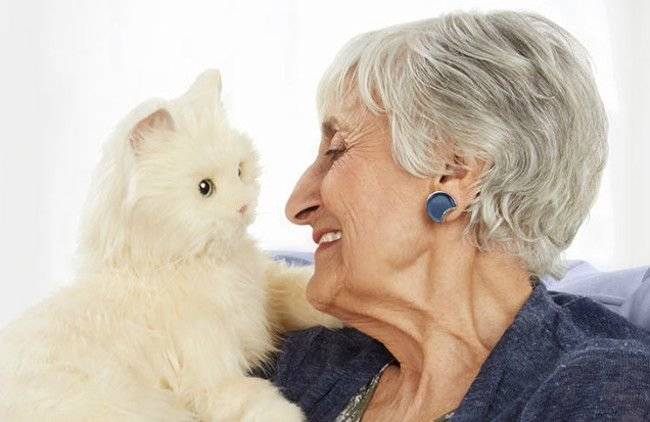 Роботизированные кошки составят компанию пенсионерам (+ видео) | Robogeek.Ru