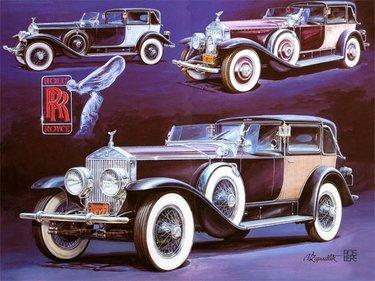 старый автомобиль рисунок
