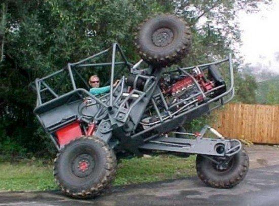 самодельные трактора  вездеходы  грузовики