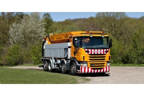Scania G480 Sewer Cleaner