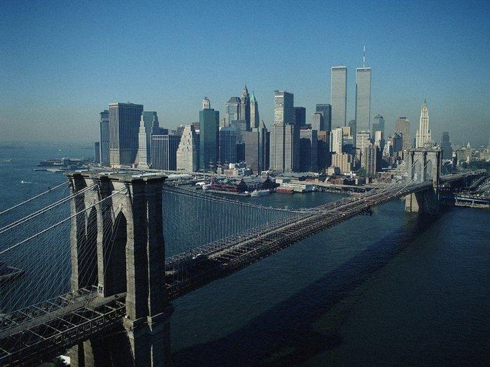 Символ Нью-Йорка. Бруклинский мост