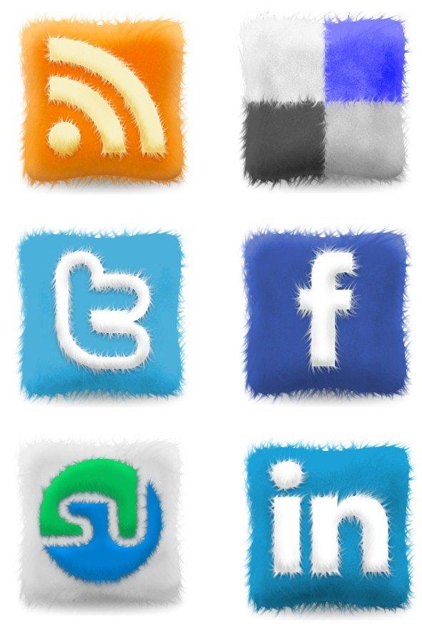 Скачать бесплатные иконки социальных сетей для сайта