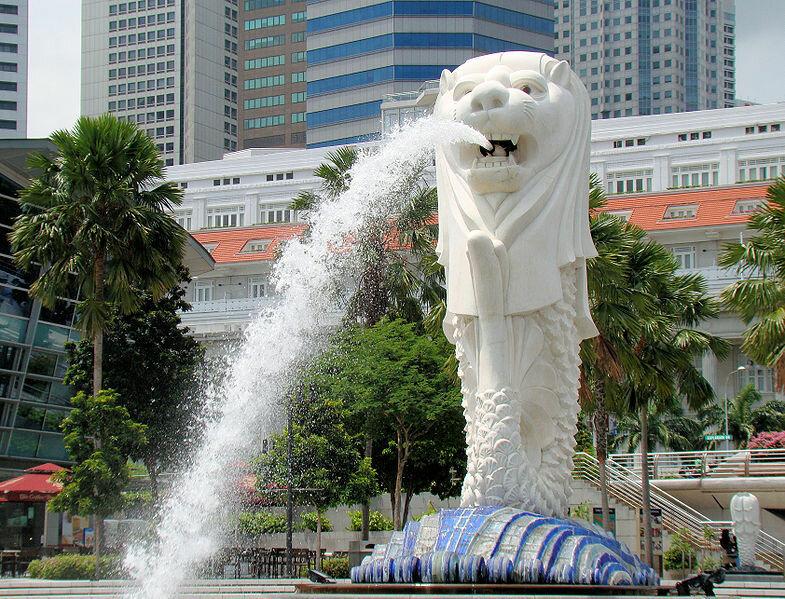 Статуя Мерлиона, Сингапур. Отели рядом, фото, видео, как добраться — Туристер.Ру