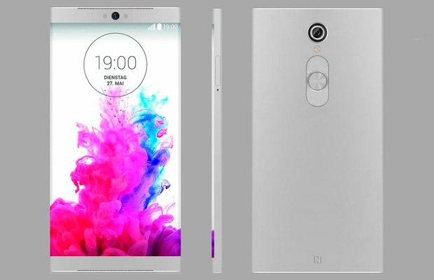 Стильный концепт смартфона LG G5