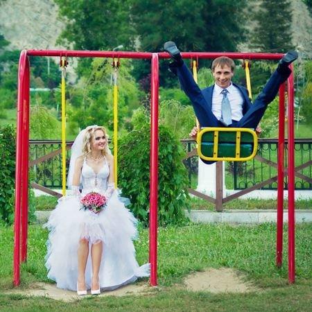 Свадебная фотосессия. Несколько креативных идей