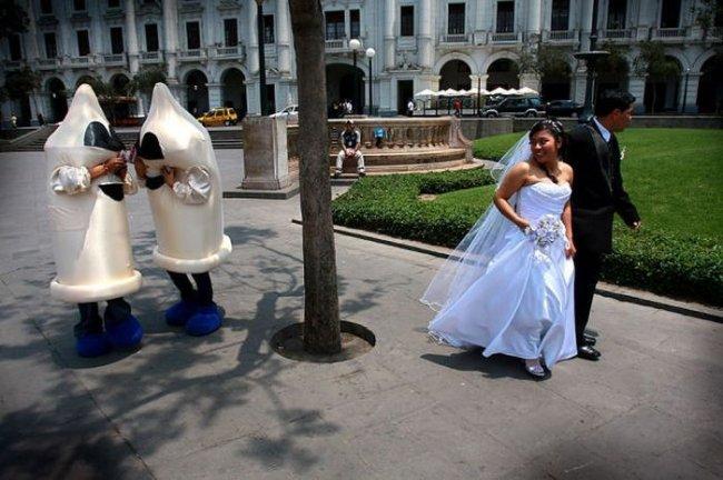 Свадебные приколы фото