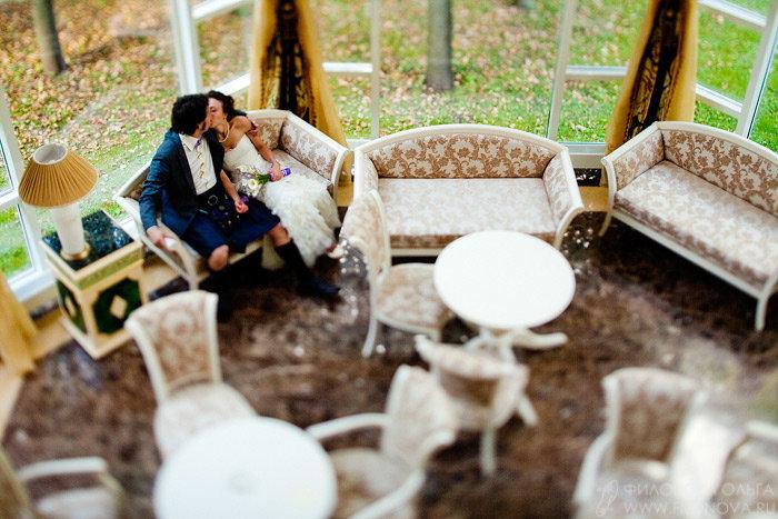 Тилт-шифт в свадебной фотографии