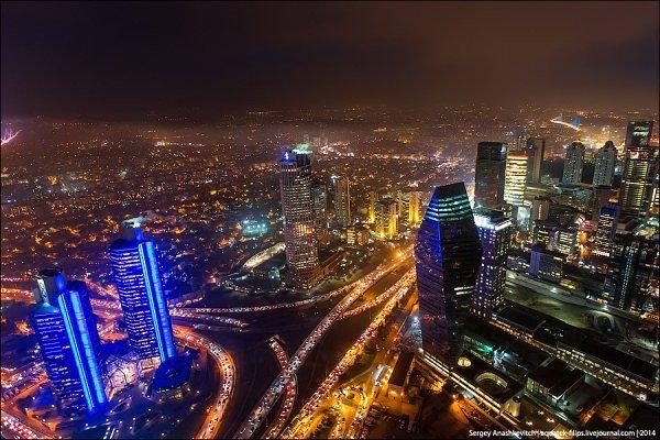 """Турецкая столица с высоты """"Istanbul Sapphire"""""""
