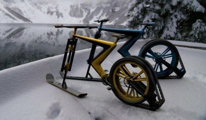 Велосипед для зимы: Sno Bike