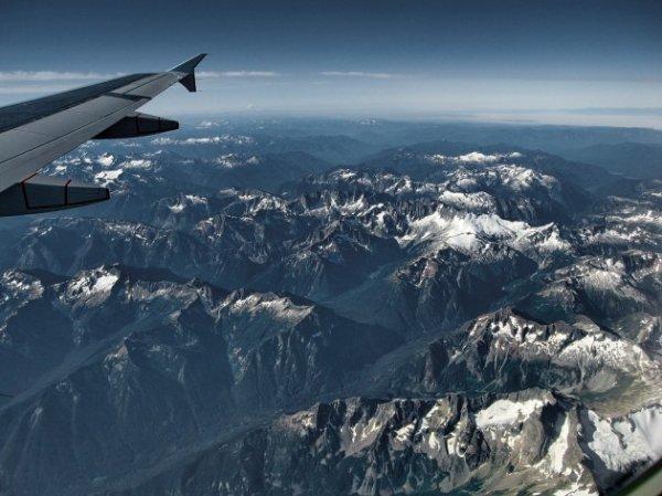 Вид из окна самолёта (25 фото)