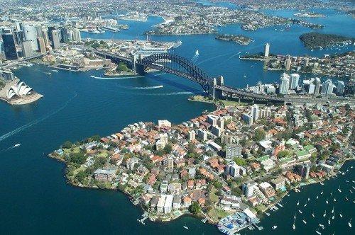 Вид на город с высоты