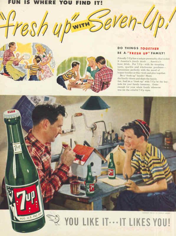Винтажные постеры - безалкогольных напитков 7UP - 24шт. Обсуждение на LiveInternet - Российский Сервис Онлайн-Дневников