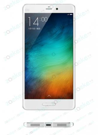 Возможный дизайн Xiaomi Mi5