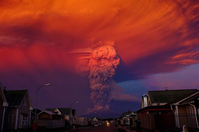 Вулкан Кальбуко проснулся (фотоблог) » Вся правда из блогосферы на UAINFO