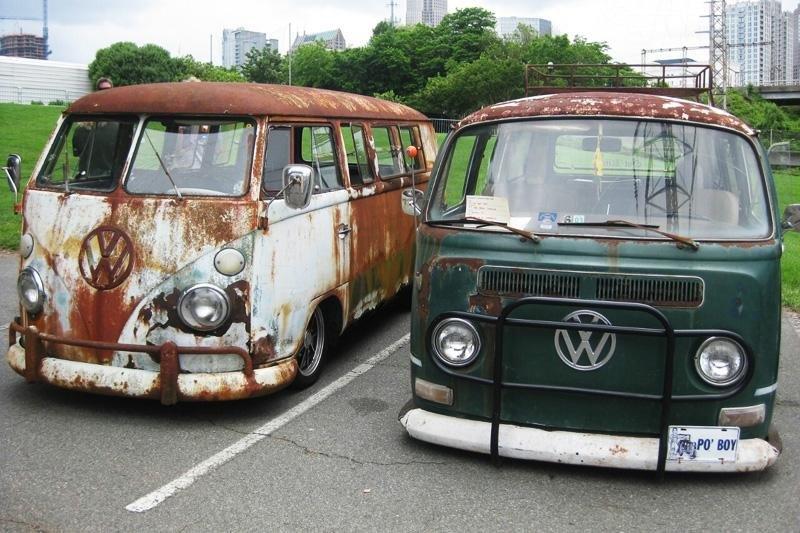 VW T1 + VW T2