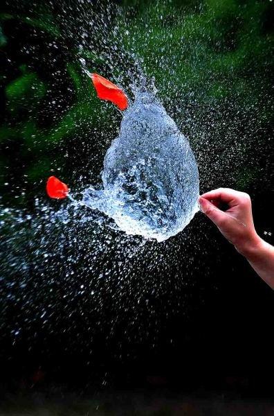 Взрыв шарика