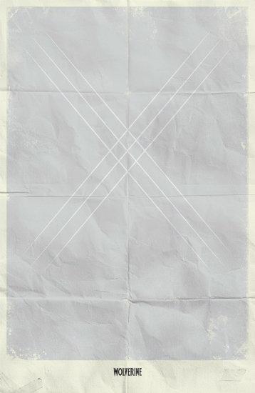 Wolverine. Минималистичный постер
