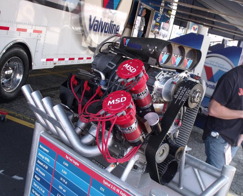 зажигание Top Fuel Dragster