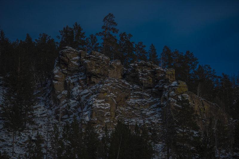 Зимний поход  на гору Палласа. Водораздельная гора, Моровой Водораздел / Фоторепортаж, фотоотчет, выход в поле. / НеПропаду
