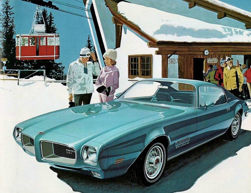 Знаменитые автомобильные иллюстрации от Арт Фитцпатрик | Artlabirint