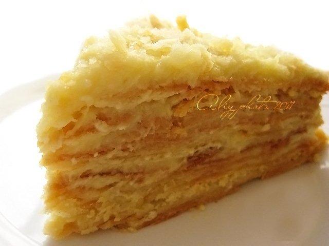 Постный торт наполеон рецепт фото