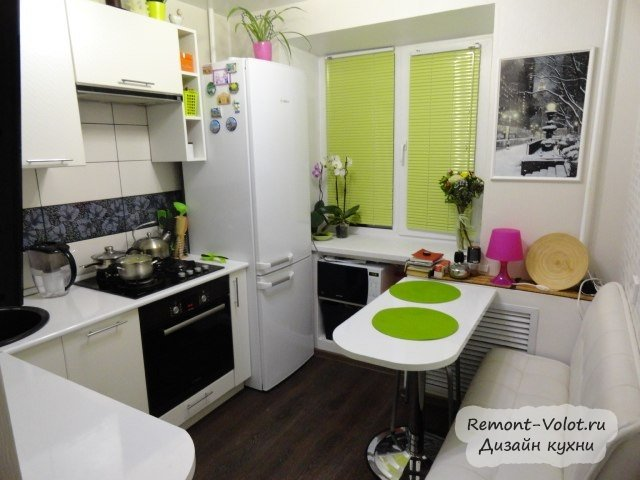 кухня 7 кв.м фото дизайн