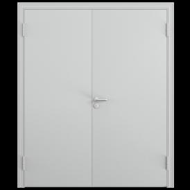 Дверь противопожарная двустворчатая 2ДП-1 (EI60)глухая равнопольная