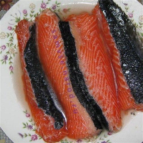 Засолка красной рыбы в домашних условиях рецепт 88