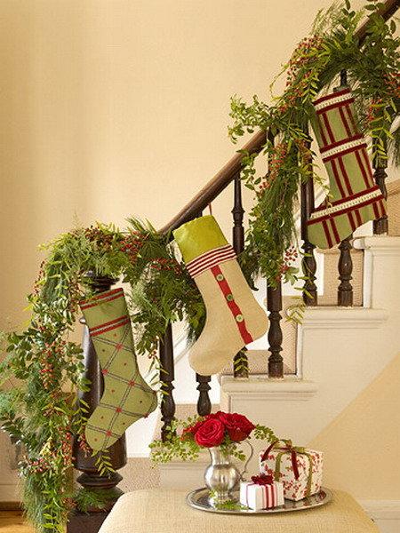 Оригинальные украшения лестницы своими руками