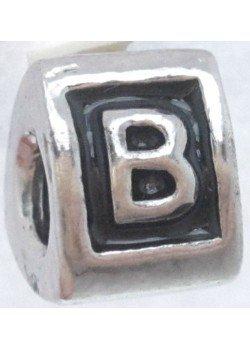 буква B -шарм для браслета пандора