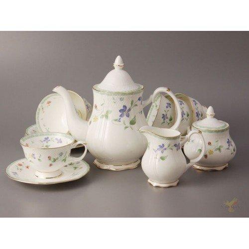 Чайный сервиз на 6 персон 15 пр. купить по цене 6607 руб. в интернет-магазине Dostavka50.ru