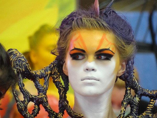 Девушки прически визаж body art - 15 фото. Фотографии Алексей Подшибякин.