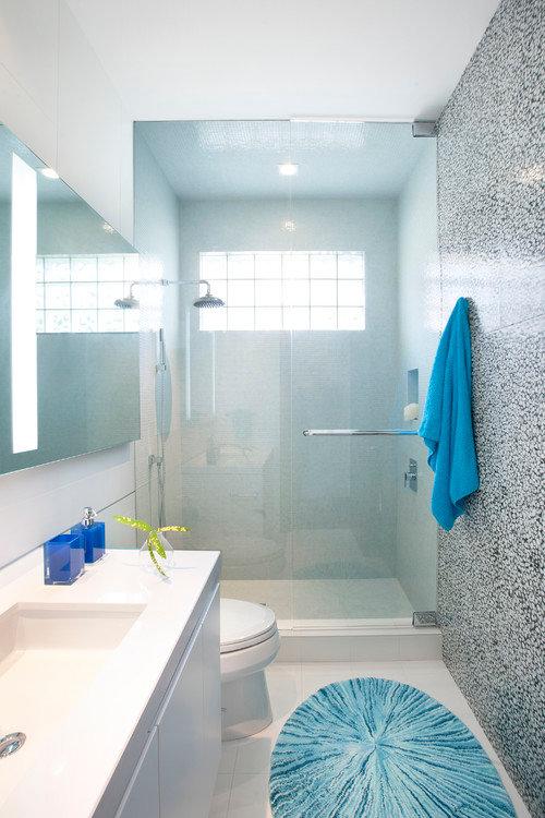Дизайн маленькой ванной: 10 советов и 38 удачных примеров