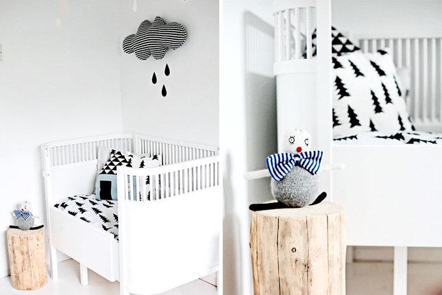 Двадцать пять идей как оформить и украсить детскую комнату  (6)
