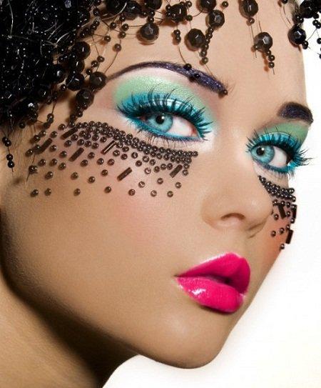 Фантазийный макияж. Фото