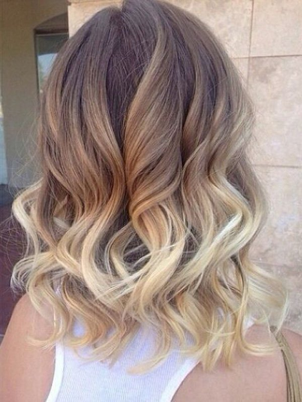 Get Your Curling Irons And Be Ready To Make Your Short Ombre Hair