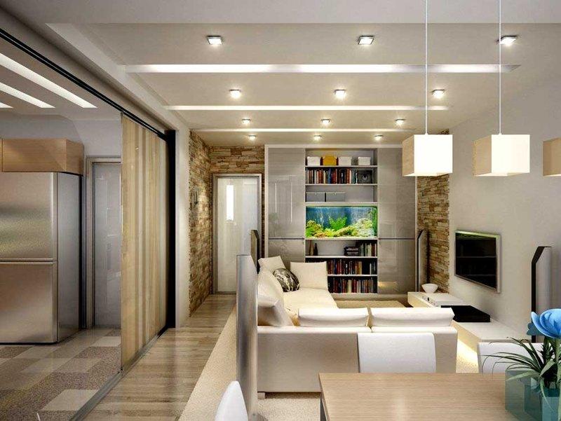 Идеальный дизайн однокомнатной квартиры: когда важна каждая мелочь