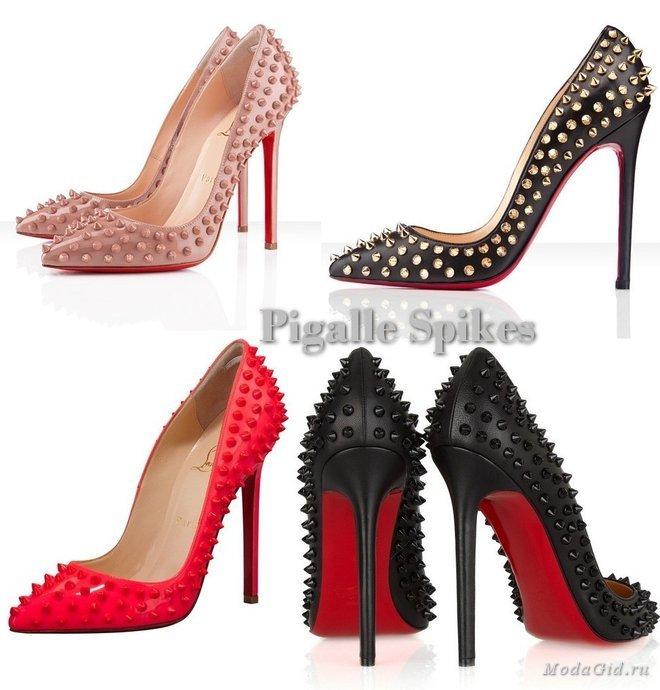 Самые популярные модели туфель от Christian Louboutin