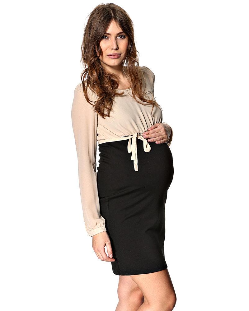 Модное платье для беременных на каждый день – фото новинки сезона