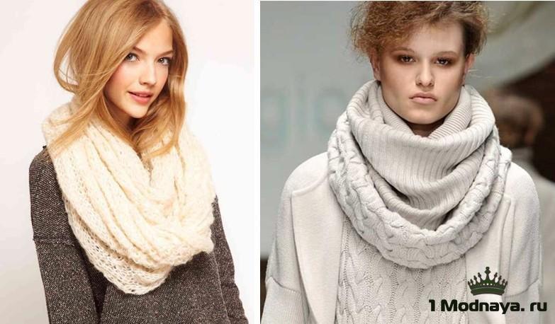 Модные шарфы для женщин 2015-2016 с фото | 1Modnaya.ru