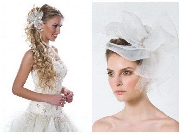 Модные свадебные прически 2012 - 40 фото!