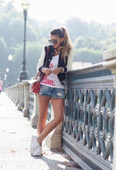 С чем носить бомбер / женская куртка бомбер: советы, фото | Блог о рукоделии и моде