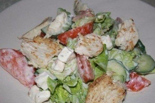 Салат хрустящий рецепт с фото