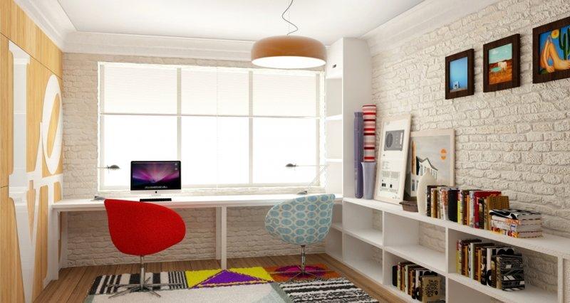 Стеллажи в интерьере. 50 интересных вариантов - Сундук идей для вашего дома - интерьеры, дома, дизайнерские вещи для дома