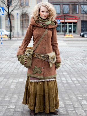 Стиль бохо шик в одежде и украшениях в 2016 году