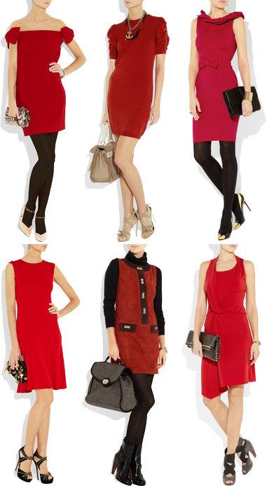 сумка к красному платью