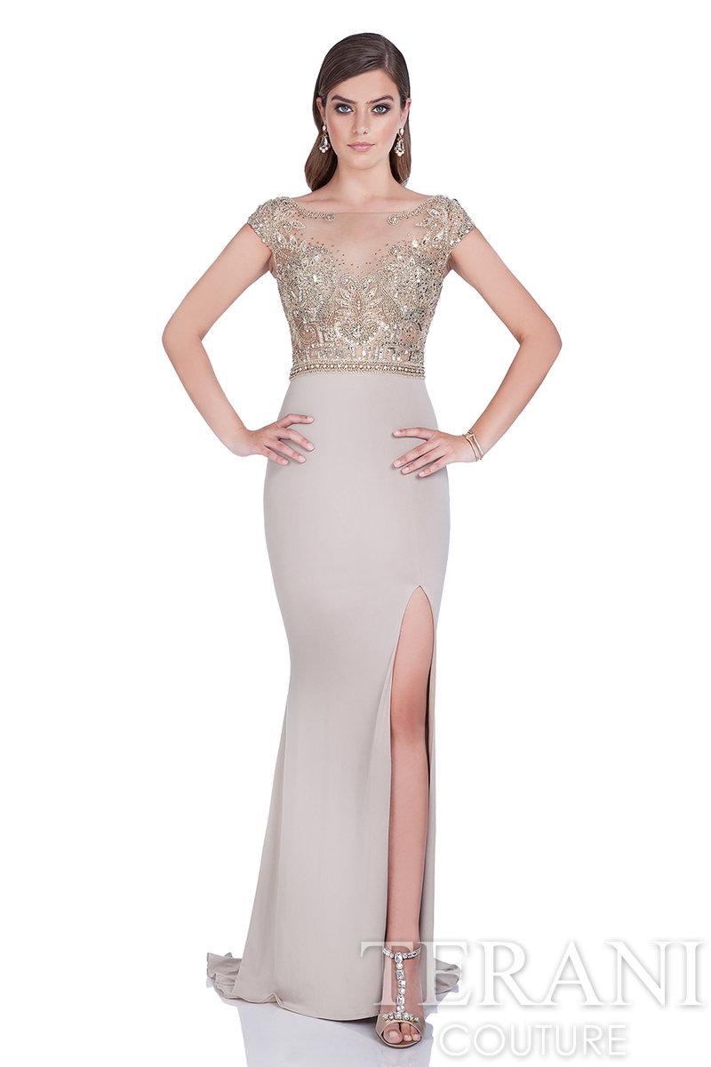TERANI COUTURE 1611Е0178 Роскошное вечернее платье